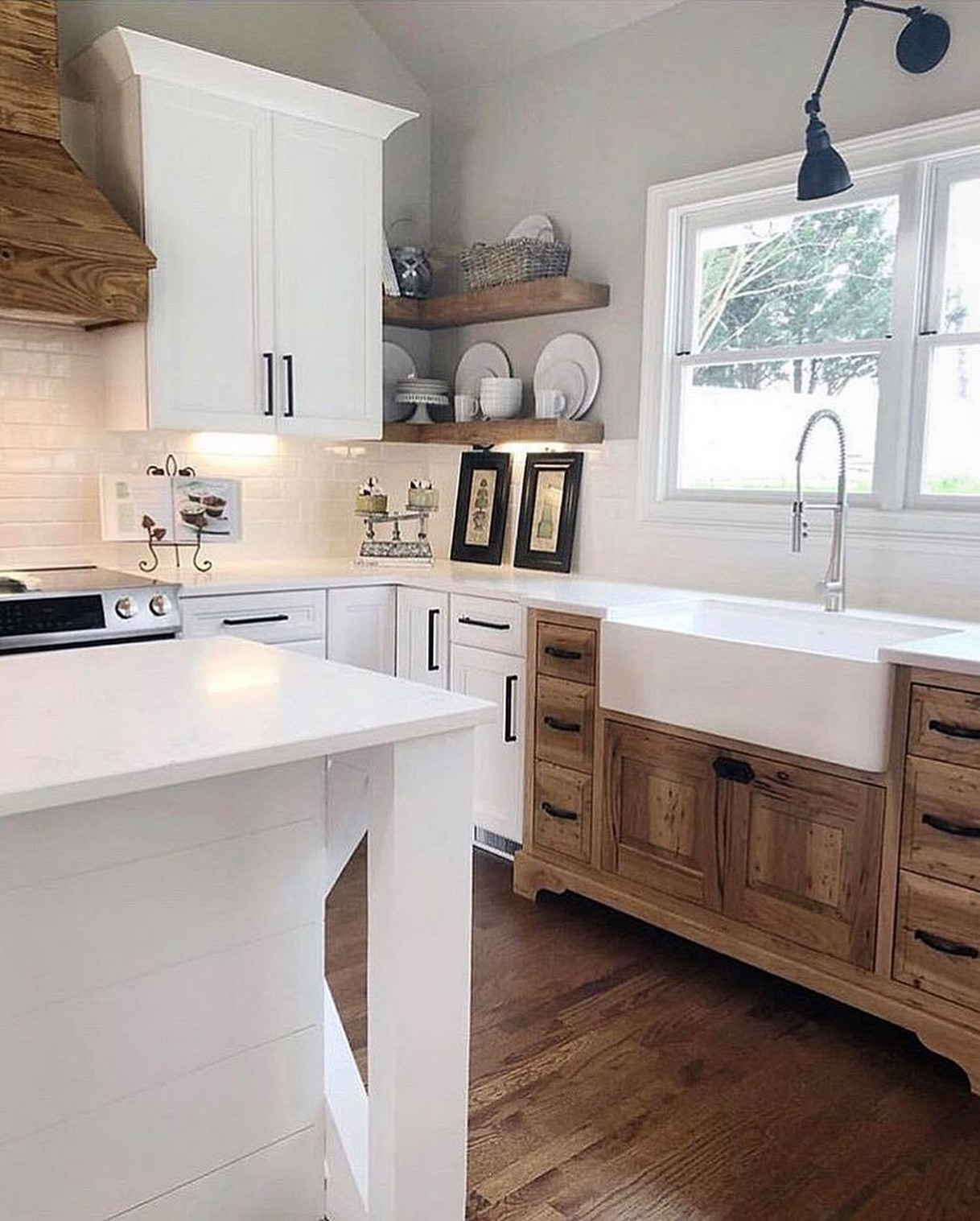 74 Things A Farmhouse Kitchen Sink Can Do For You Home Decor 73