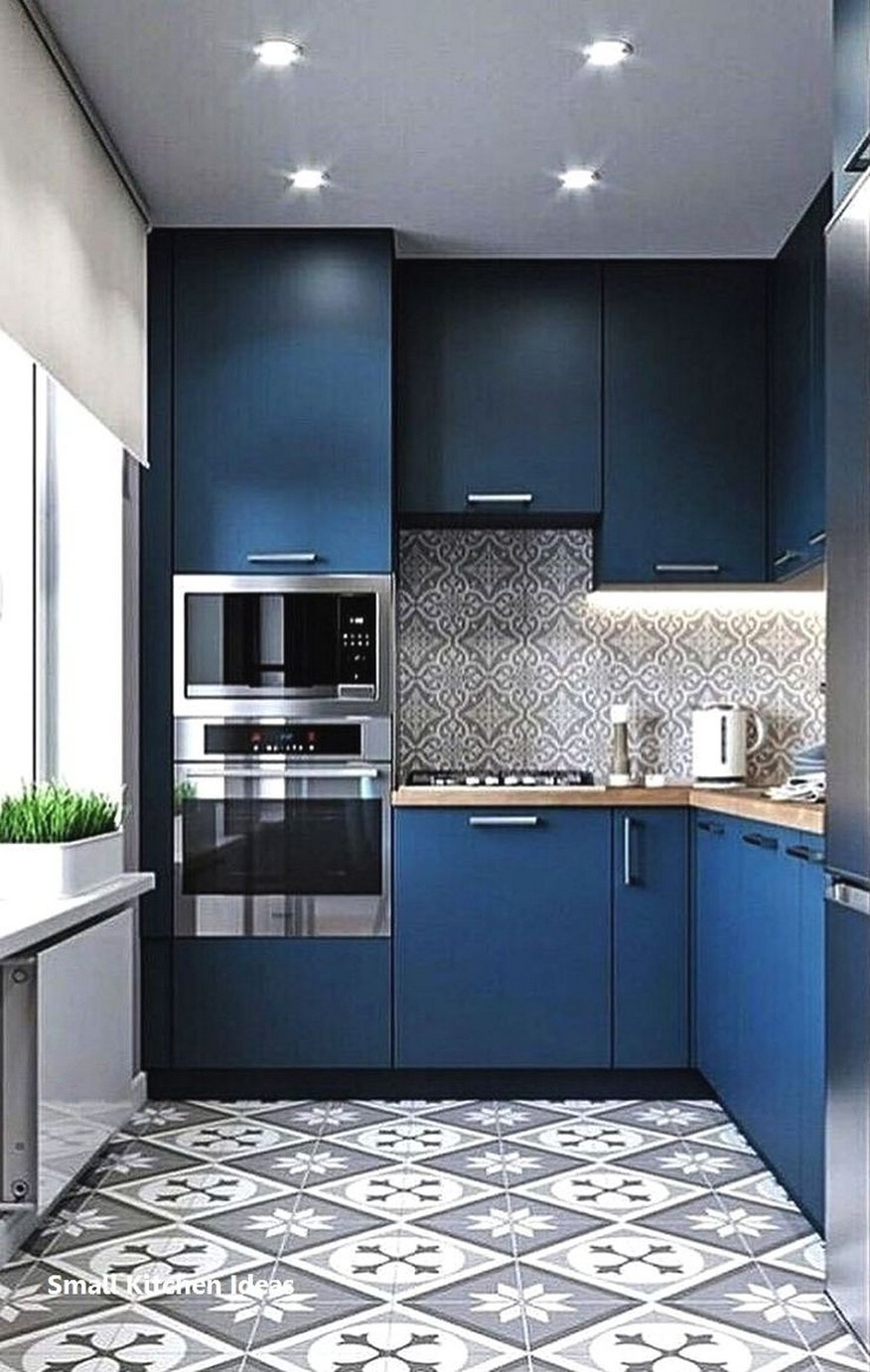 86 Some Small Kitchen Ideas To Help You Do Up Your Kitchen 30