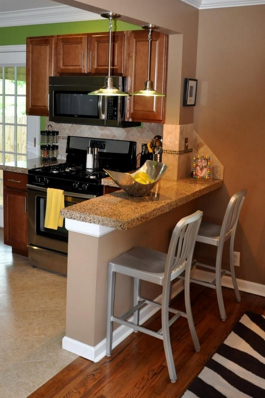 86 Some Small Kitchen Ideas To Help You Do Up Your Kitchen 32