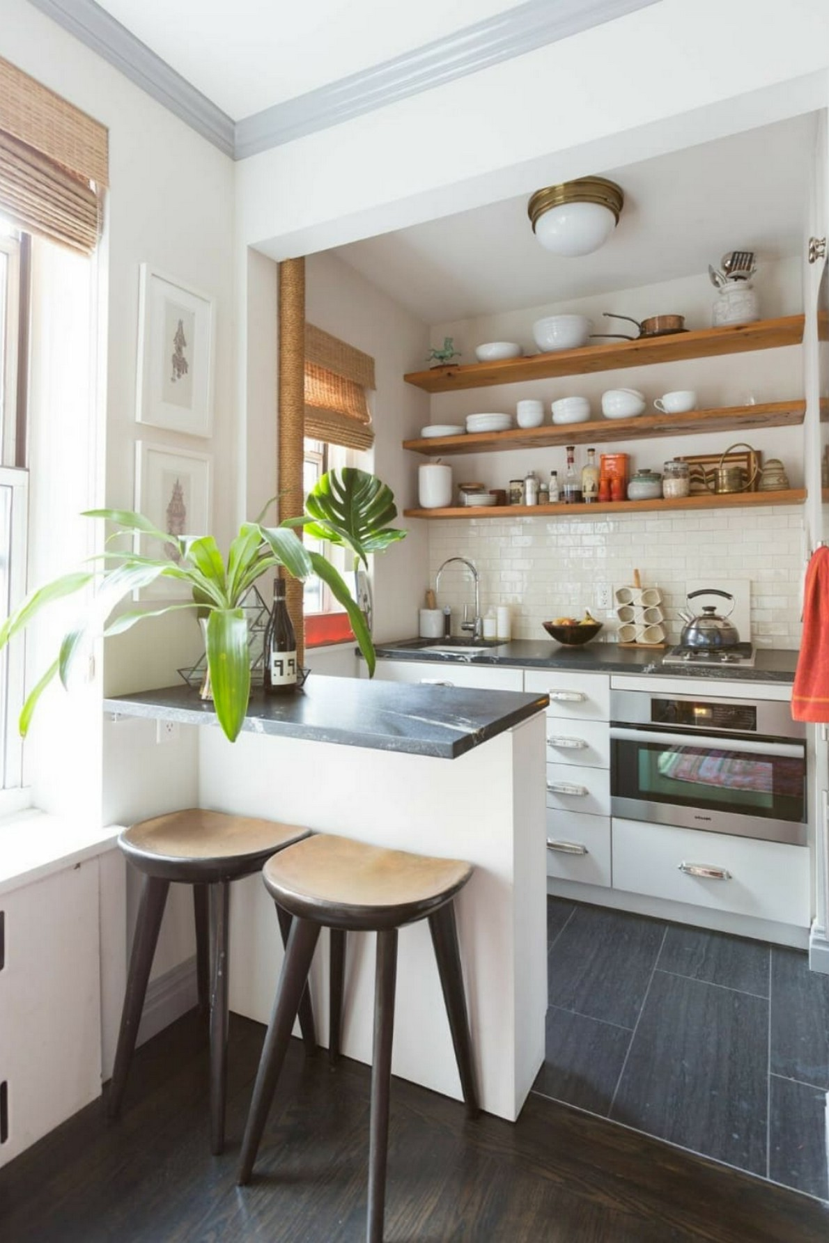 86 Some Small Kitchen Ideas To Help You Do Up Your Kitchen 77