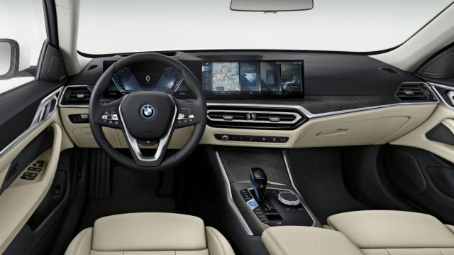 New BMW 4 Series Gran Coupe 2022 Interior