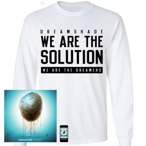 We Are The Solution White Long Sleeve T-Shirt + CD + Download