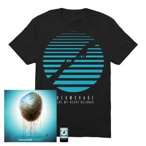 Where My Heart Belongs Black T-Shirt + CD + Download