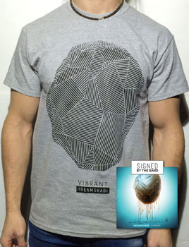 Stone T-shirt + Signed Album VIBRANT Bundle