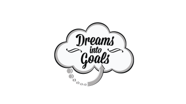 Dreams into Goals Writing Logo