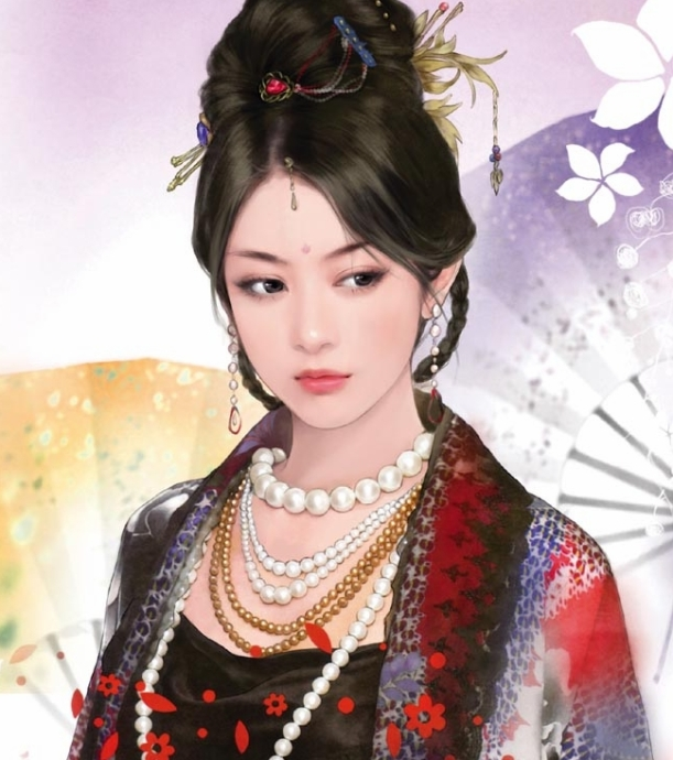 I'm not going to say that this is what Jing guifei really looks like but the presence it gives is something like what I imagined.