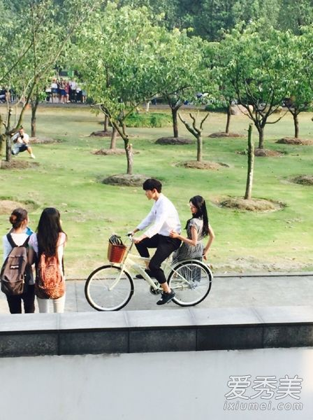 Bicycle scene!