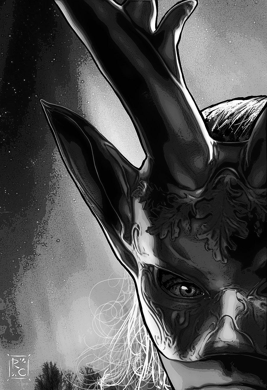Dreams of Ydalir mask wearer