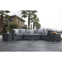 Rattan Half Moon Sofa Set How To Clean Water Stains From Microfiber Yakoe Furniture Dreams Outdoors