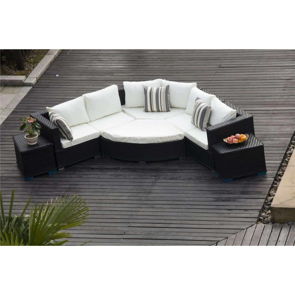 rattan half moon sofa set what is a double motion yakoe furniture dreams outdoors