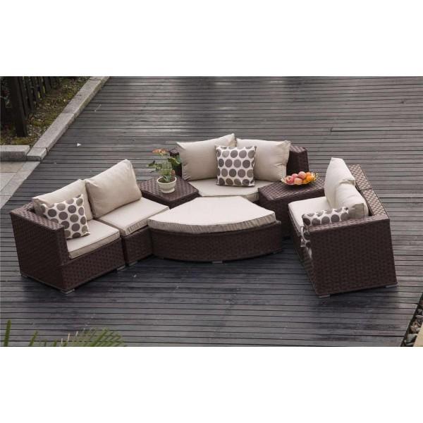 rattan half moon sofa set kmart faux leather yakoe furniture dreams outdoors