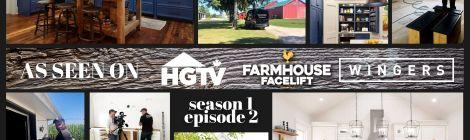 As seen on HGTV's Farmhouse Facelift
