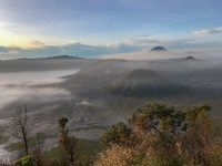 Bromo from above