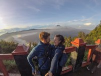 Us in Bromo