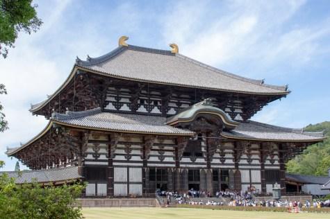 Gigantic Wooden Temple