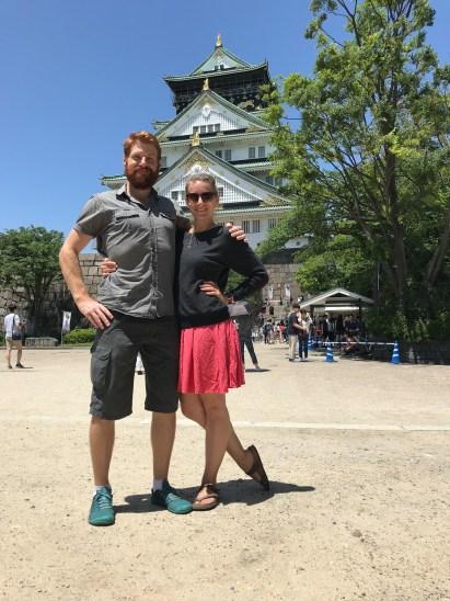 Osaka Castle Selfie