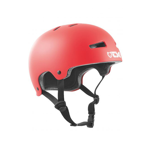 TSG HELM Evolution Solid Colors Fire Red