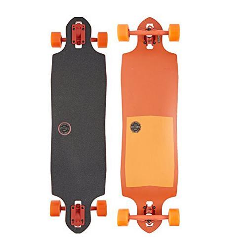 GLOBE LONGBOARD Sledgehog Fibercarve Tart Orange
