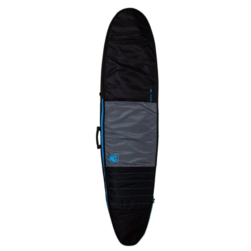 CREATURES OF LEISURE BOARDBAG Longboard Day Use Charcoal Cyan 9'6''