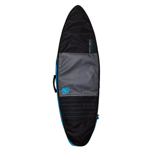 CREATURES OF LEISURE BOARDBAG Retro Fish Day Use Charcoal Cyan 6'3''