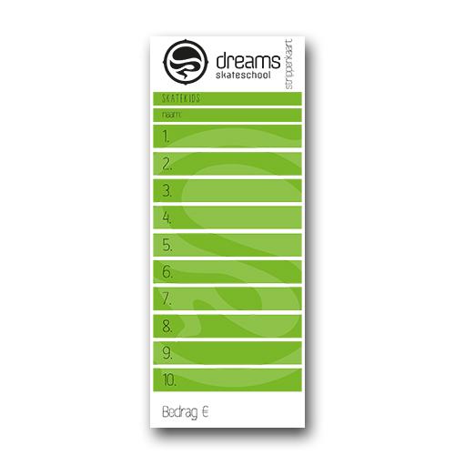 Freerun Strippenkaart 5x - Strippenkaart 5 uur