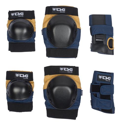 TSG Protection Set Nightblue Duskyellow - M