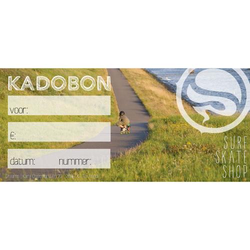 Kadobon Dreamsshop longboarder
