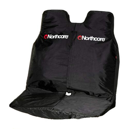 Double Waterproof Van Seat Cover: Black