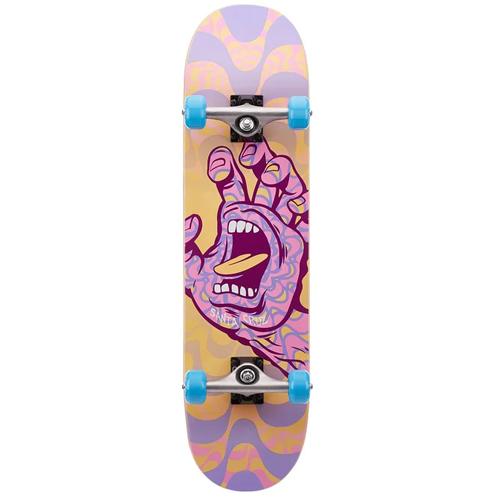Skateboard complete Santa-Cruz kaleidohand purple 8