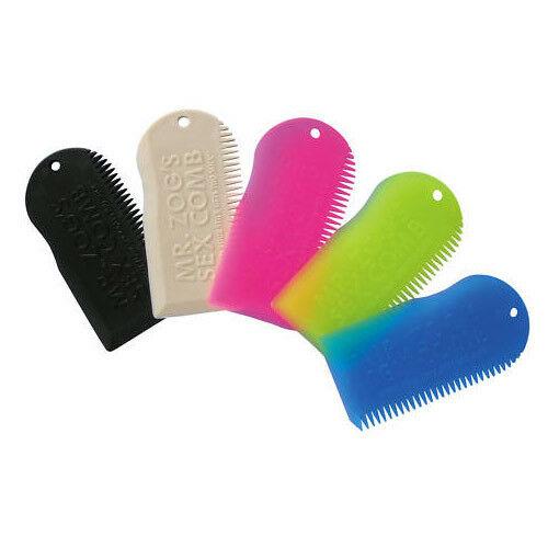 SEXWAX WAXKAM Mr Zog's Sex Comb Zwart