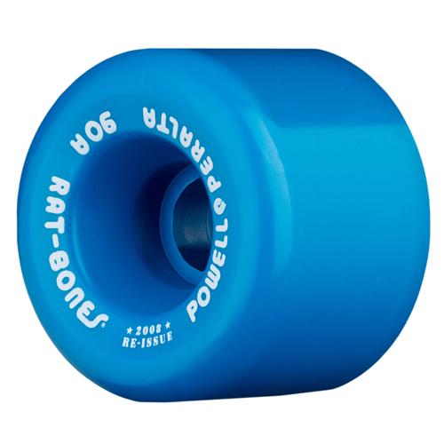 Powel Peralta Rat Bones Wheel Blue 90a 60mm
