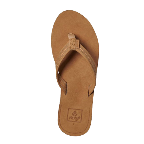 Reef Slippers Voyage Lite Leather Chocolate