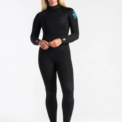C-skins Surflite 4:3 Womens GBS Back Zip Steamer 04