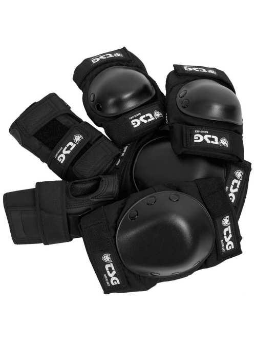 TSG Basic Black Protection Set Large