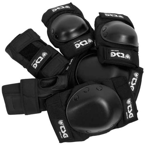 TSG Basic Black Protection Set Large