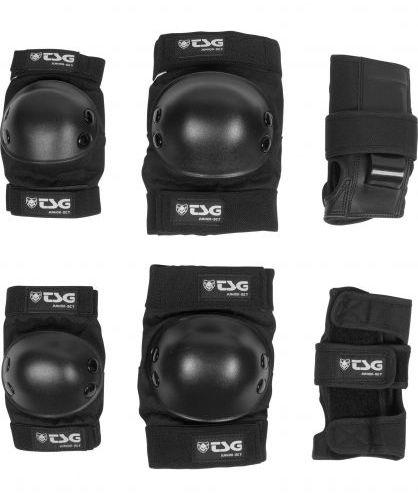 Tsg Basic Black Protection Set Junior