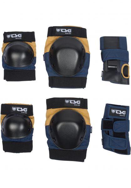 TSG Basic Blue/Yellow Protection Set Large