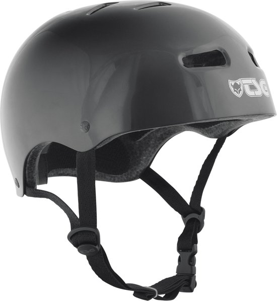 Tsg Helm Skate/Bmx Solid Color Injected Black - S/M