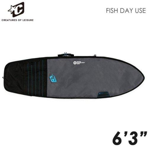 6'3 FISH DAY USE ; CHARCOAL CYAN