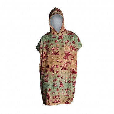 After Poncho Kids Light Green