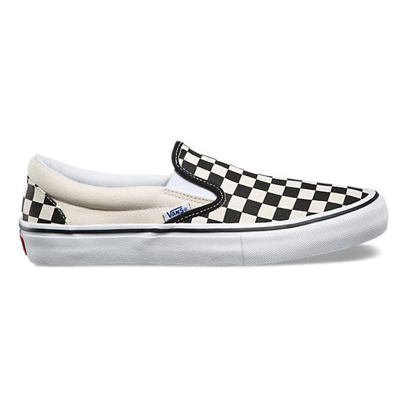 SLIP-ON PRO CHCKRBRD BLACK/WHITE