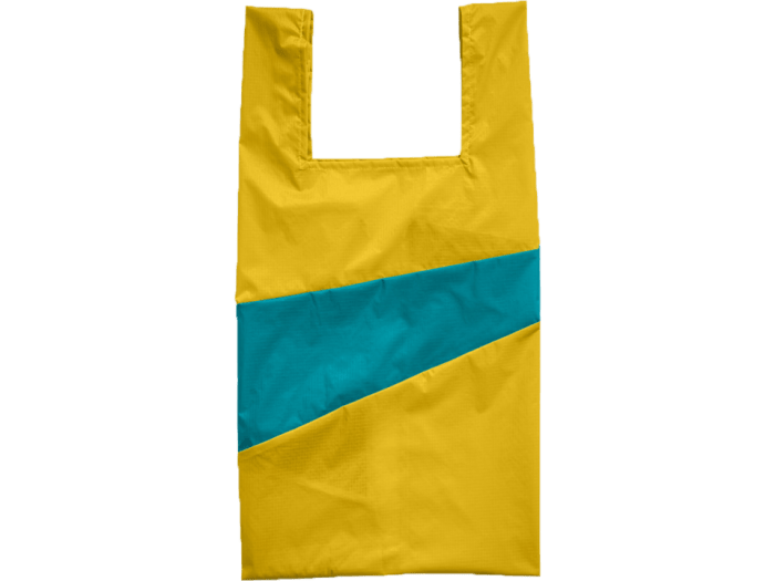 SUSAN BIJL SHOPPINGBAG Helio Aqua Medium