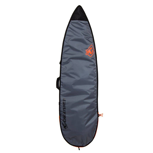 CREATURES OF LEISURE BOARDBAG 5'8 Shortboard Lite Charcoal