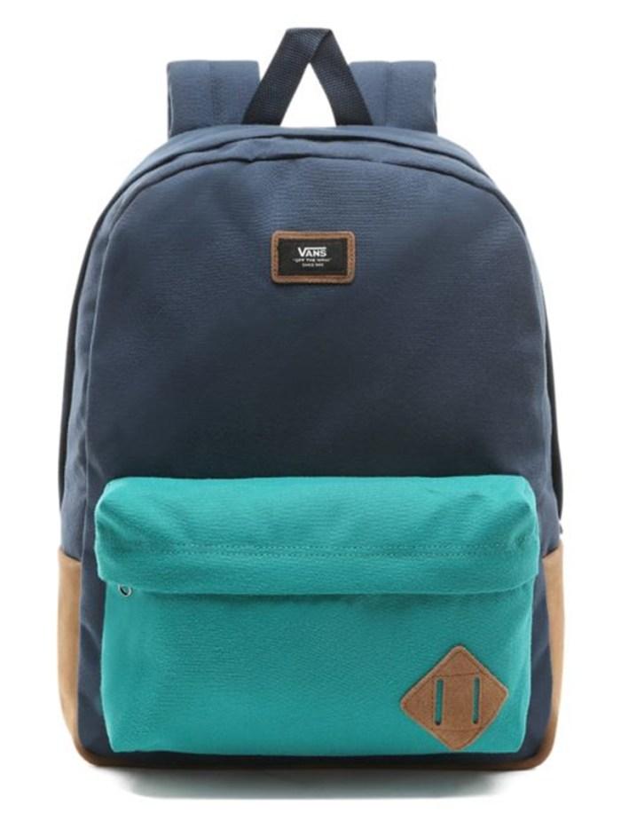 Vans Old Skool Backpack Quetzal/Dress Blue
