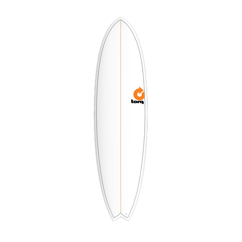 Torq Fish White Pinline 7'2