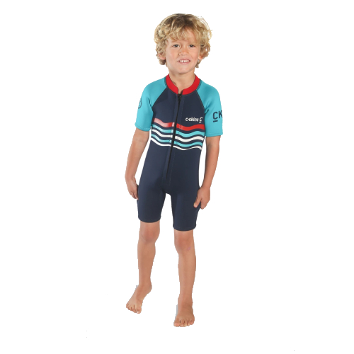 C-Skins Baby Shorti Inkblue/Turquoise