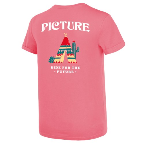 Picture Bret Tee Sugar Pink