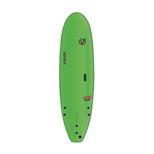 Vision TakeOff Lime 6'0''