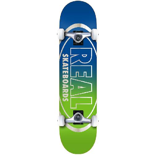Real Golden Oval Outlinereal MD Complete skateboard