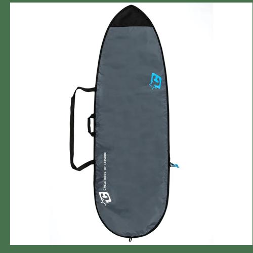 Boardbag Fish Lite Charcoal Cyan 7'1''